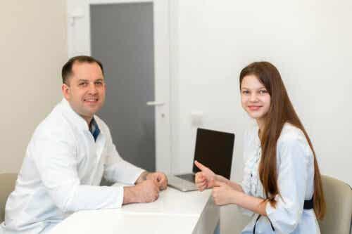 En lege og en pasient
