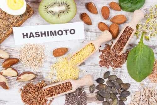 Matvarer man kan inkludere i et kosthold når man har Hashimotos