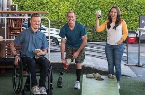 De seks typene funksjonshemming og karakteristikkene deres