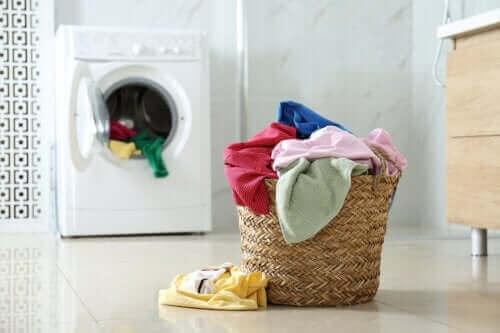 Tilsett svart pepper i vaskemaskinen din