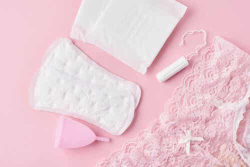 bind og tamponger