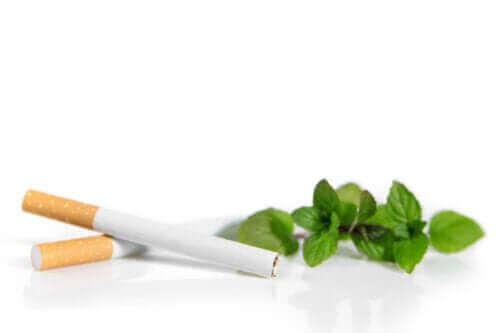 Mentolsigaretter kan være mer skadelige