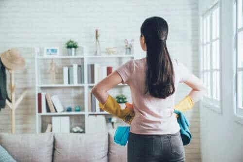 Bruk 20-10-metoden for å organisere hjemmet ditt