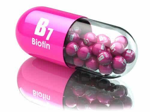 En biotinkapsel.
