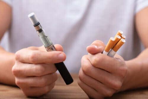 Er vaping et bedre alternativ enn å slutte å røyke for godt?