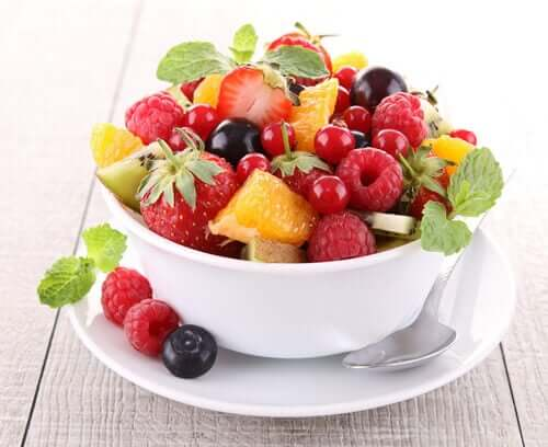 Sunne snacks til enhver tid på dagen