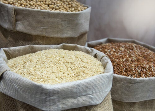 Fire typer matvarer med lang holdbarhet